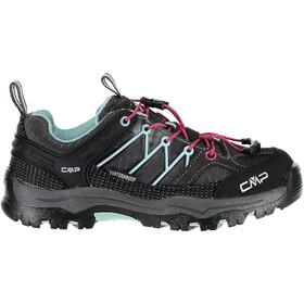 CMP Campagnolo Rigel Low WP Trekking Shoes Junior Arabica-Sky Light